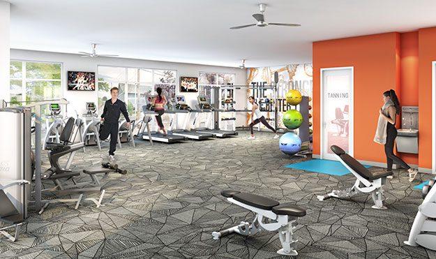 Fitness Center & Yoga Room