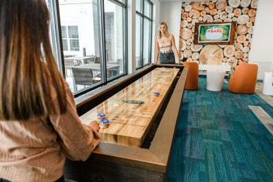 Game room at Sierra