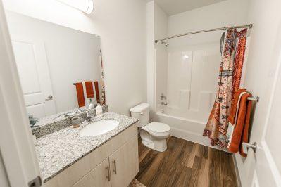 Bathroom area at Sierra