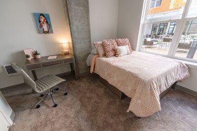 Bedroom area at Sierra