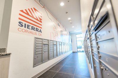 Mail room at Sierra