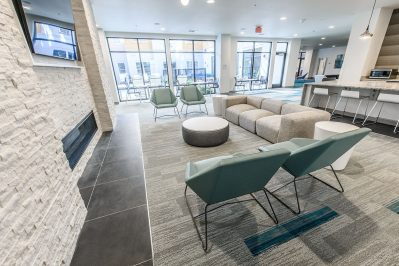 Lounge area at Sierra