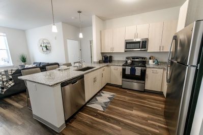 Kitchen area at Sierra