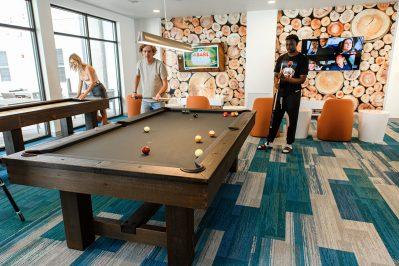 Game lounge at Sierra